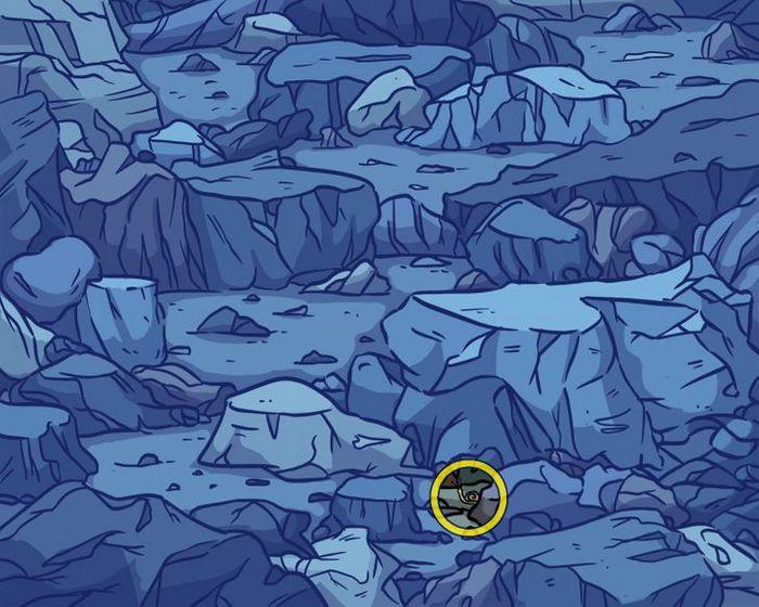 Você consegue encontrar os objetos perdidos nas imagens 40
