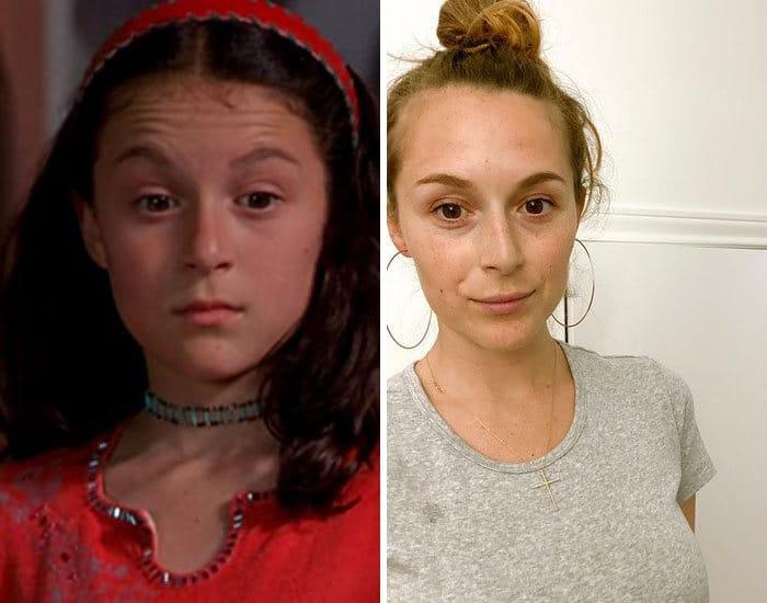 27 antes e depois de atores infantis da época, fazendo com que todos se sintam velhos 22