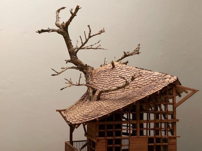 24 fantásticas casas na árvore de bonsai 22