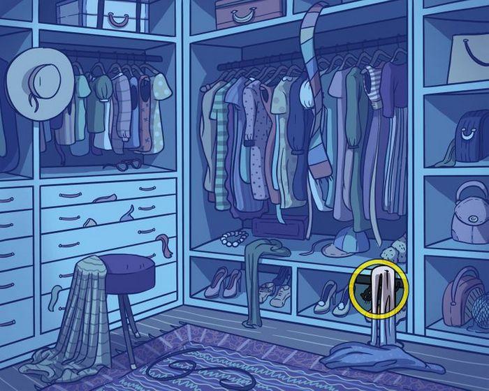 Você consegue encontrar os objetos perdidos nas imagens 44