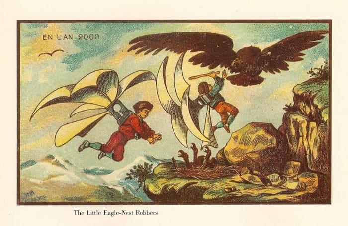 24 Ilustrações legais de artistas do passado que tentaram prever o futuro 24