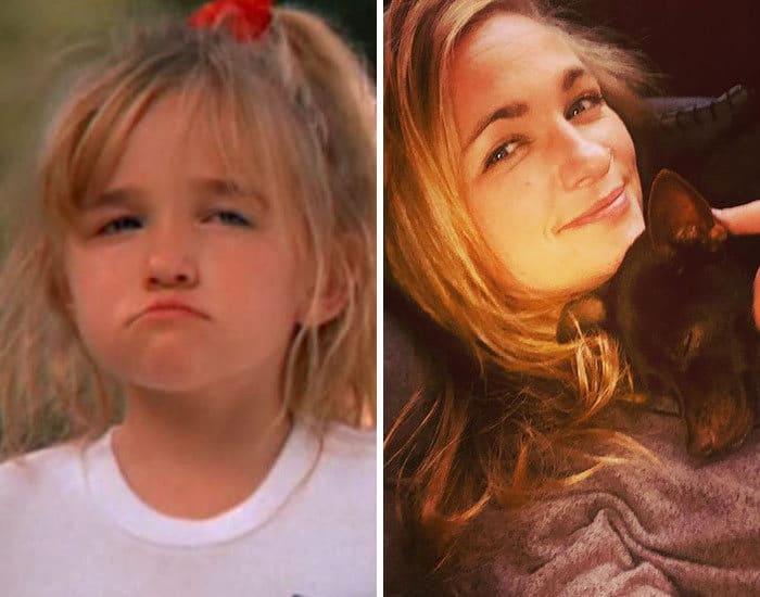 27 antes e depois de atores infantis da época, fazendo com que todos se sintam velhos 25