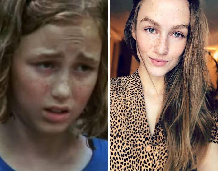 27 antes e depois de atores infantis da época, fazendo com que todos se sintam velhos 26