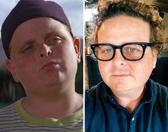 27 antes e depois de atores infantis da época, fazendo com que todos se sintam velhos 28