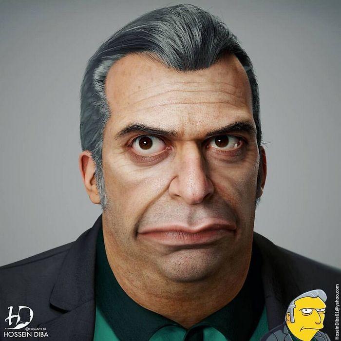 Artista adicionar toques realistas em 31 personagens da cultura pop 29