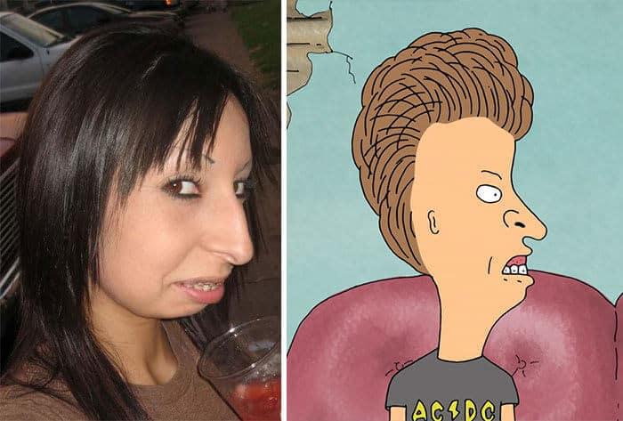 50 pessoas reais que parecem personagens de desenhos animados 47
