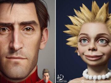 Artista adicionar toques realistas em 31 personagens da cultura pop 31