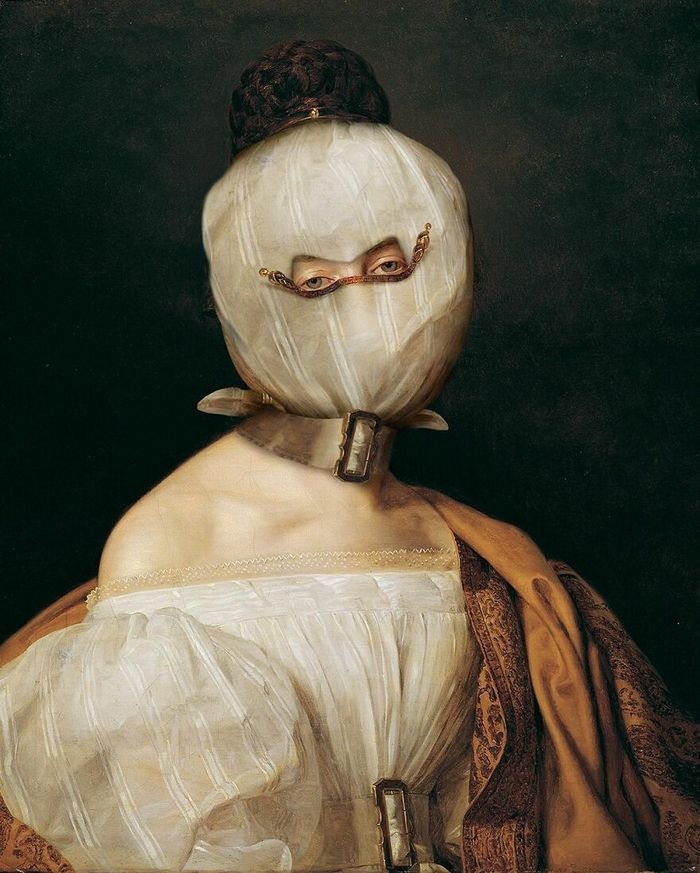 Artista coloca máscaras em pinturas clássicas, e o Instagram está adorando 36