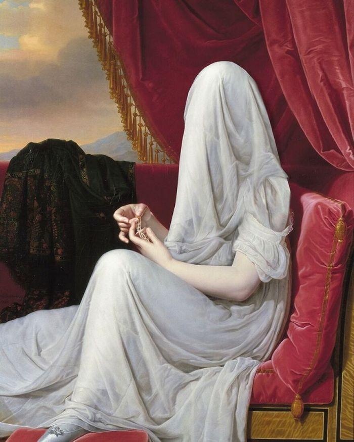 Artista coloca máscaras em pinturas clássicas, e o Instagram está adorando 42