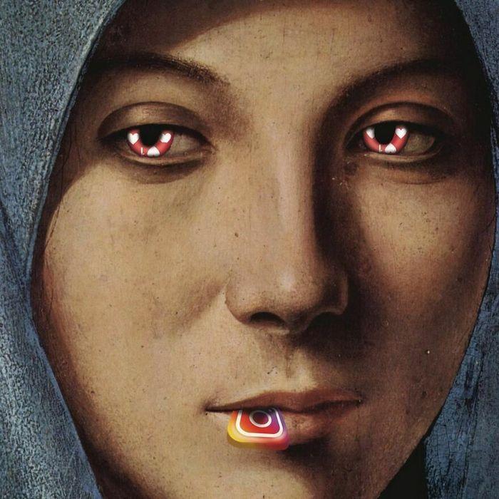 Artista digital reimagina pinturas famosas no contexto atual da tecnologia e mídia social 13