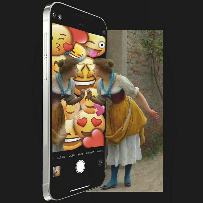 Artista digital reimagina pinturas famosas no contexto atual da tecnologia e mídia social 20