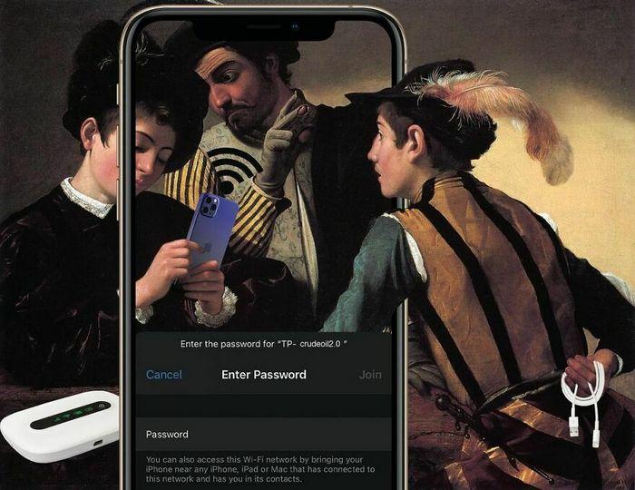 Artista digital reimagina pinturas famosas no contexto atual da tecnologia e mídia social 23