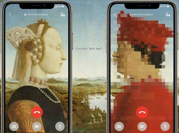 Artista digital reimagina pinturas famosas no contexto atual da tecnologia e mídia social 38
