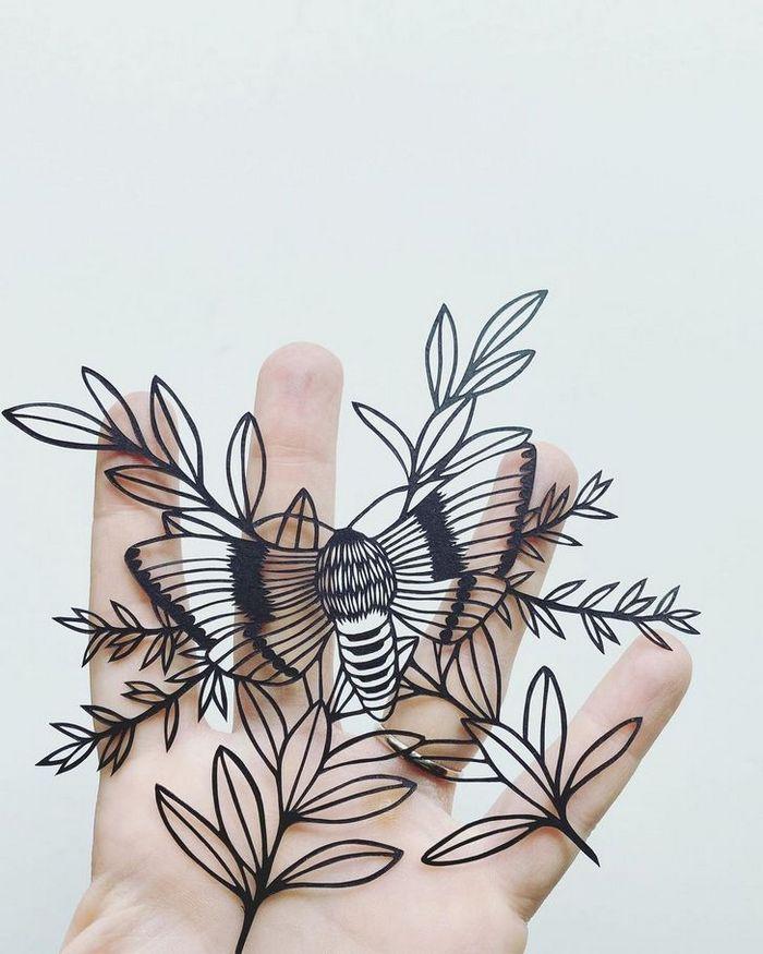 Artista faz obras de artes extremamente complexas com papel e bisturi 2