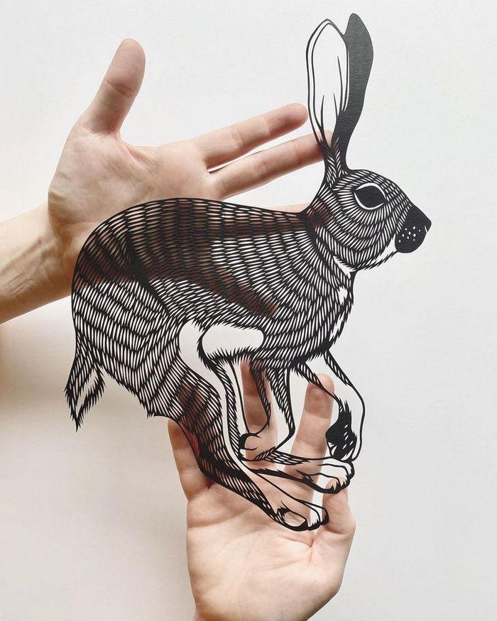 Artista faz obras de artes extremamente complexas com papel e bisturi 8