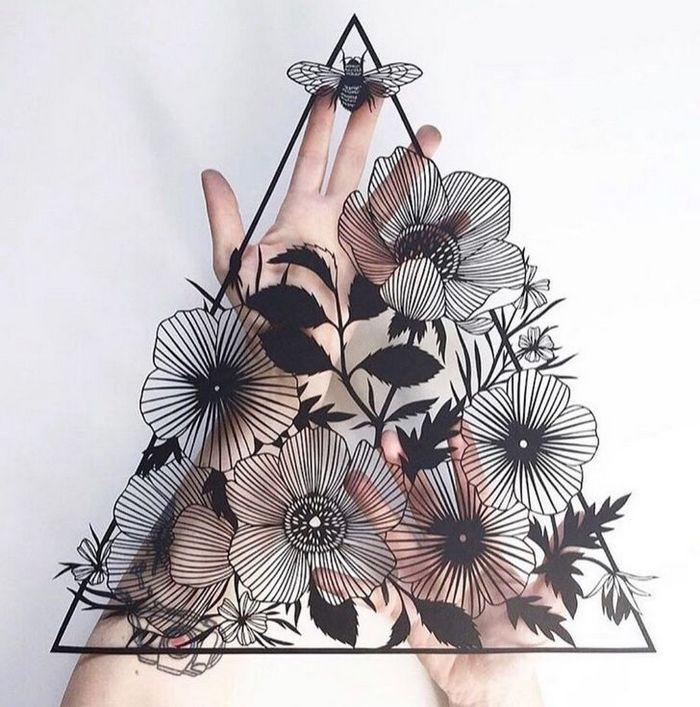 Artista faz obras de artes extremamente complexas com papel e bisturi 10