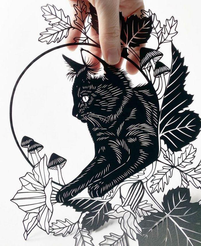 Artista faz obras de artes extremamente complexas com papel e bisturi 14