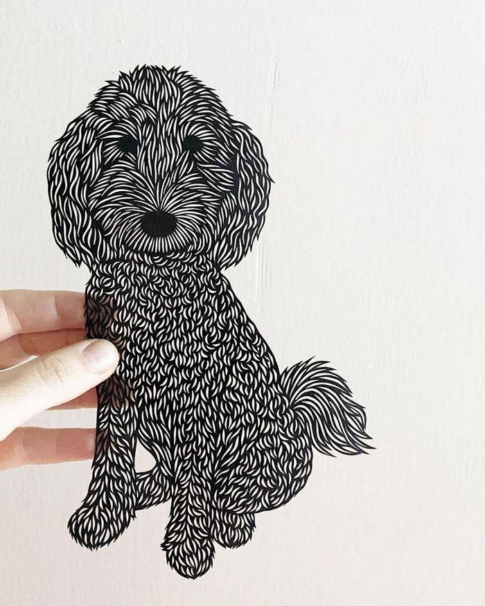 Artista faz obras de artes extremamente complexas com papel e bisturi 21