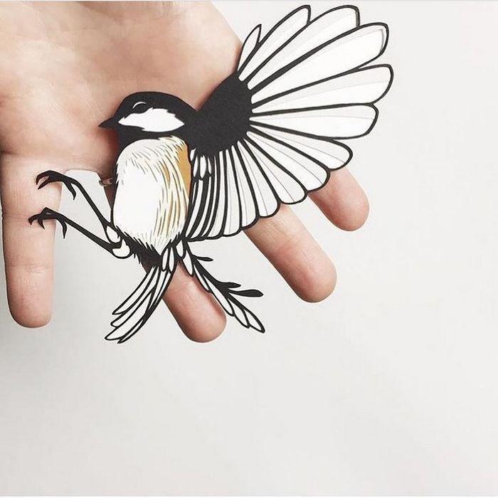 Artista faz obras de artes extremamente complexas com papel e bisturi 24