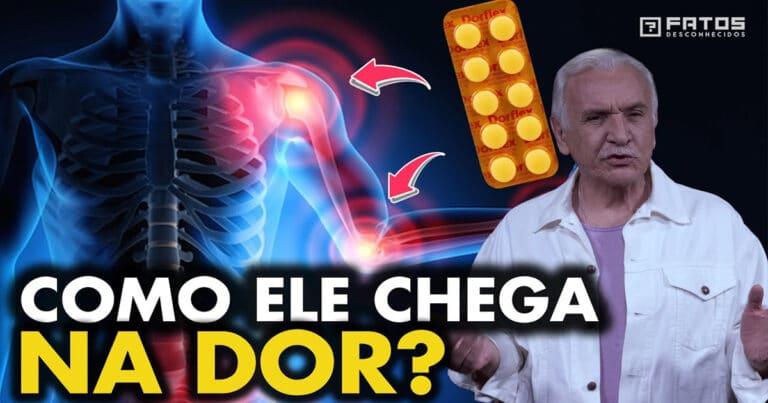 Como o medicamento sabe onde está a dor no nosso corpo? 1
