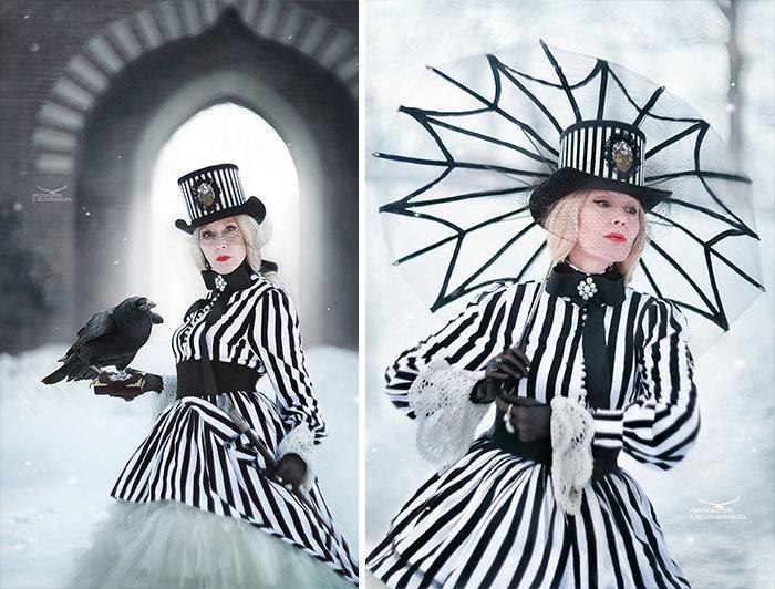 Esta avó russa de 58 anos faz suas próprias fantasias nestes 46 cosplays 6