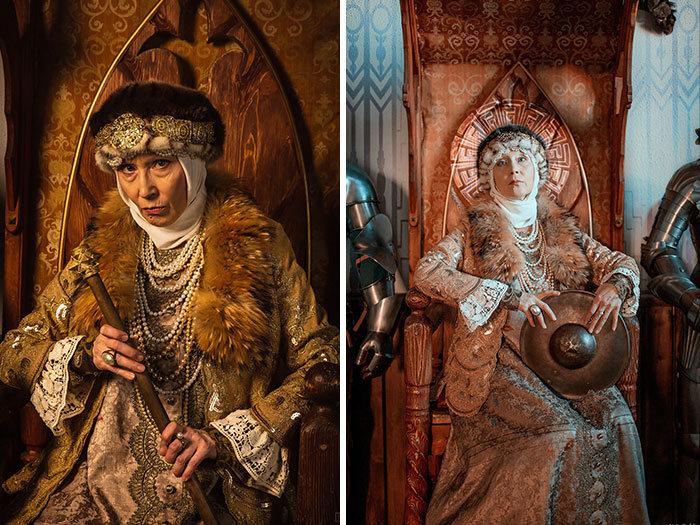 Esta avó russa de 58 anos faz suas próprias fantasias nestes 46 cosplays 14