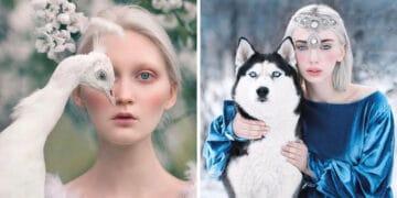Fotógrafa retratam a forte ligação entre humanos e animais 49