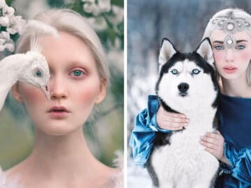 Fotógrafa retratam a forte ligação entre humanos e animais 5