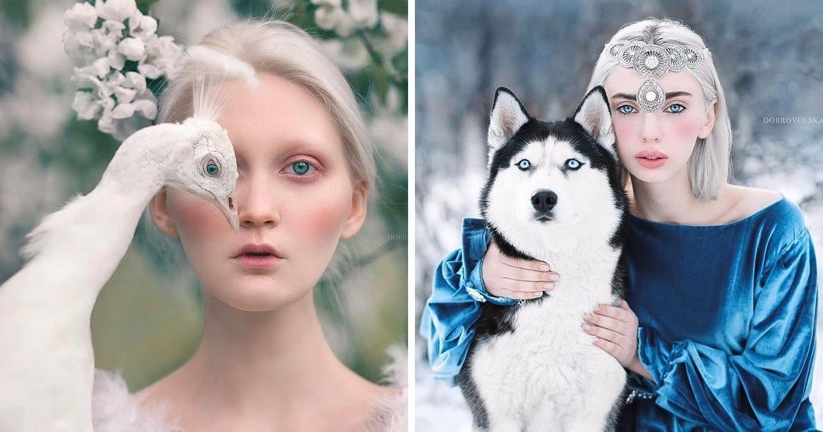 Fotógrafa retratam a forte ligação entre humanos e animais 3