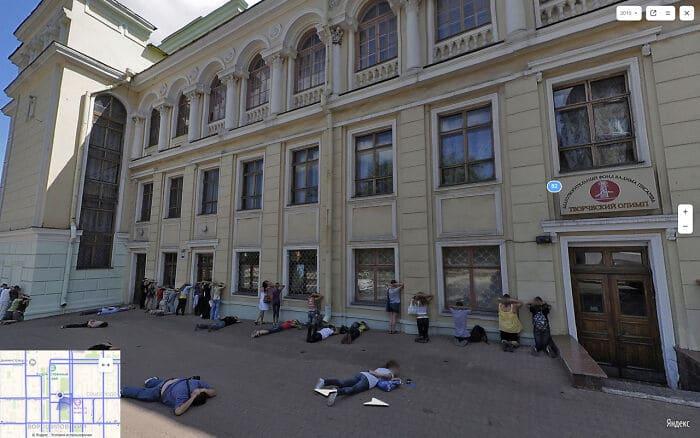 56 fotos engraçadas e interessante do Google Street View 30