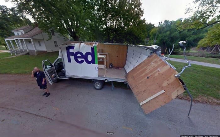56 fotos engraçadas e interessante do Google Street View 34