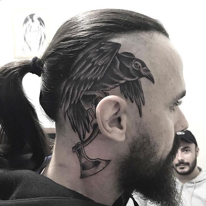 52 melhores tatuagem Viking e Nórdica para você se inspirar 16