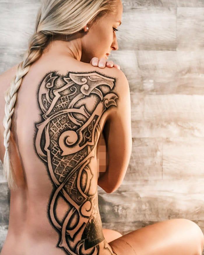 52 melhores tatuagem Viking e Nórdica para você se inspirar 52