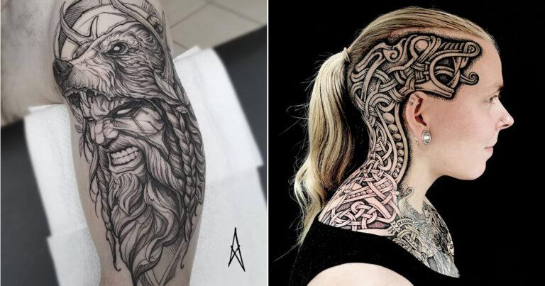 52 melhores tatuagem Viking e Nórdica para você se inspirar 1