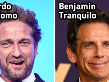 35 nomes de celebridades traduzidos para o português 4