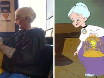 50 pessoas reais que parecem personagens de desenhos animados 39