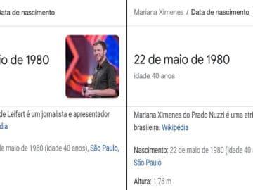 Quiz: Essas fotos são do Tiago Leifert ou da Mariana Ximenes? 7