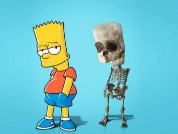Como seriam os esqueletos de personagens de desenho animados, e isso pode te assustar 55