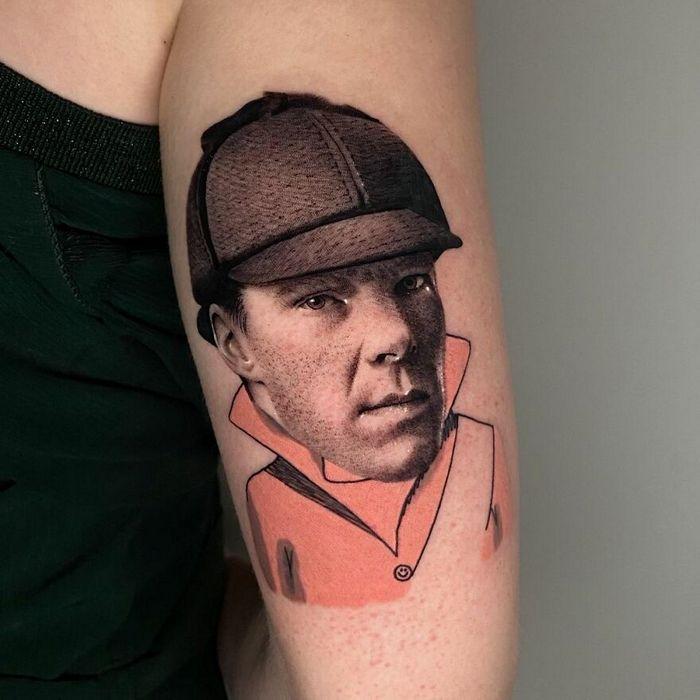 46 tatuagens de personagens populares misturadas em dois estilos diferentes 8