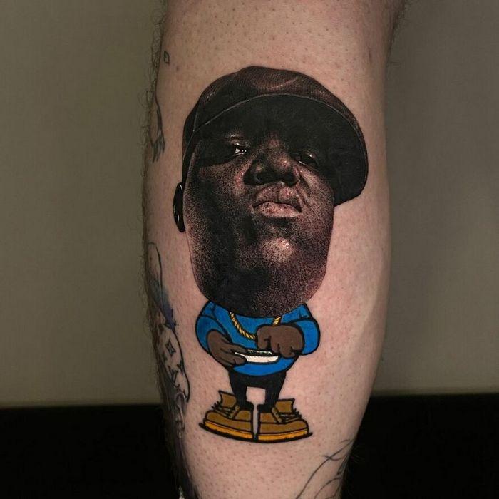 46 tatuagens de personagens populares misturadas em dois estilos diferentes 16