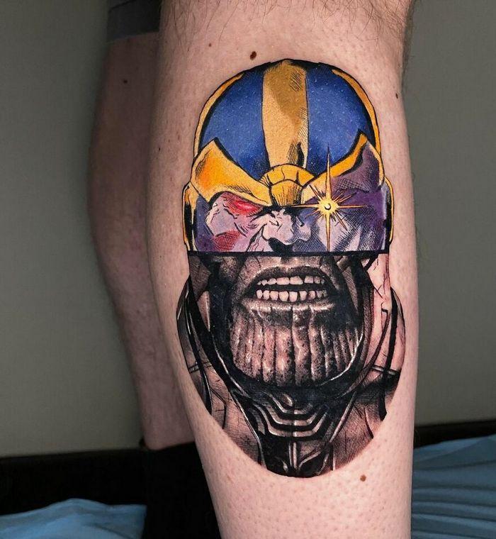 46 tatuagens de personagens populares misturadas em dois estilos diferentes 18