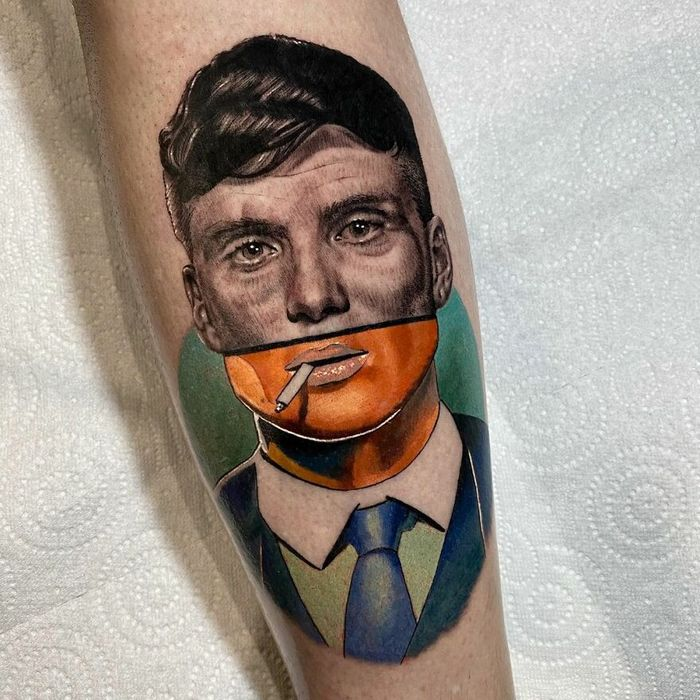 46 tatuagens de personagens populares misturadas em dois estilos diferentes 27