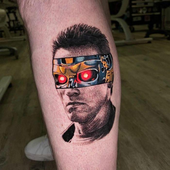 46 tatuagens de personagens populares misturadas em dois estilos diferentes 40