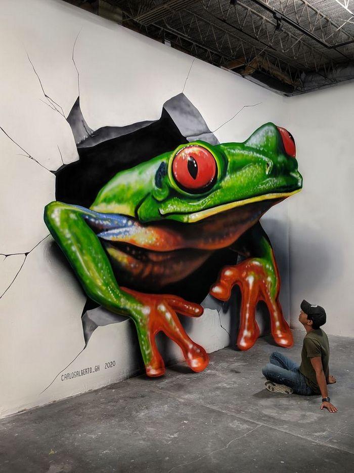 Um artista ilumina ruas com sua arte em 3D, tão mágica que vai fazer você questionar a realidade 4