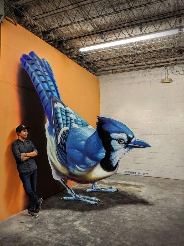 Um artista ilumina ruas com sua arte em 3D, tão mágica que vai fazer você questionar a realidade 20
