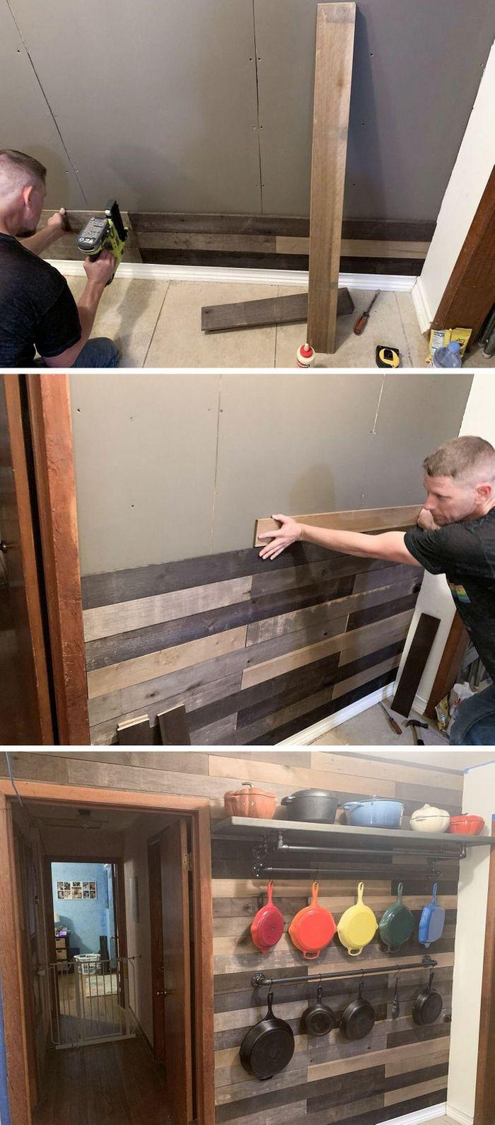 25 pessoas que reformaram a casa com as próprias mãos e arrasaram 6