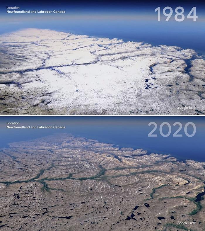 O Google Earth mostra o que os humanos fizeram com a Terra de 1984 a 2020 8