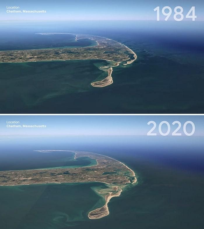 O Google Earth mostra o que os humanos fizeram com a Terra de 1984 a 2020 17