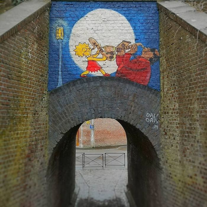 Artista francês cria arte humorística nas ruas de Paris 28