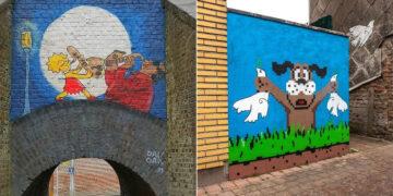 Artista francês cria arte humorística nas ruas de Paris 42